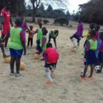 Fußballschulen in Mosambik